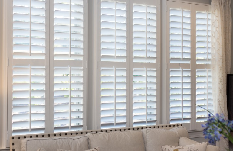 Polywood Shutters In Southern California Sunburst