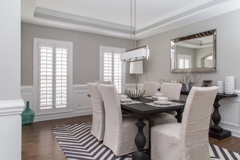 Southern California dining room design