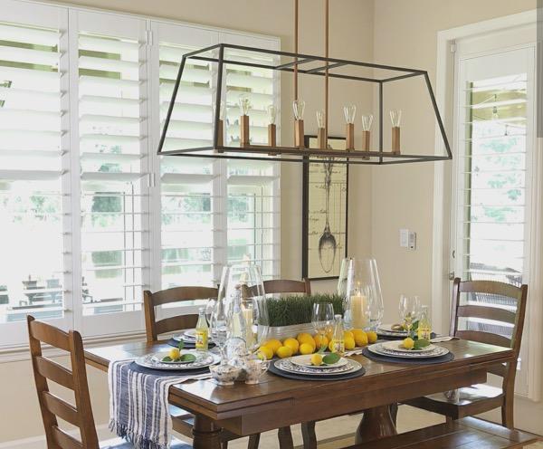 Southern California dining room concept