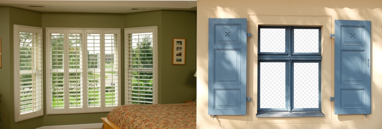 Southern California California outdoor and indoor shutters