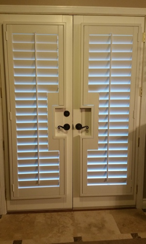 What Makes Shutters The Best Window Treatment For French Doors In ...