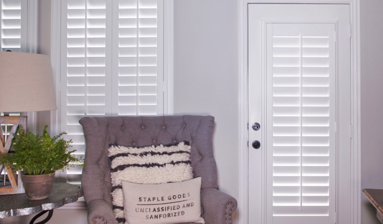 Plantation shutters in Southern California
