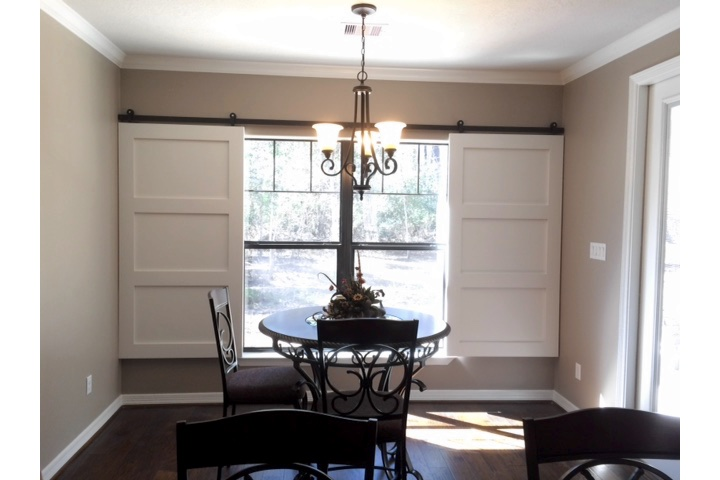 Southern California Dining Room Window Treatments