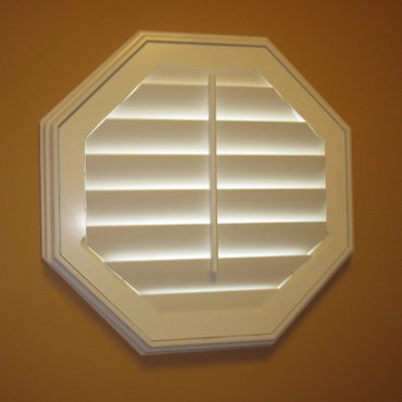 Octagon Window Treatment Ideas For Your Southern California House