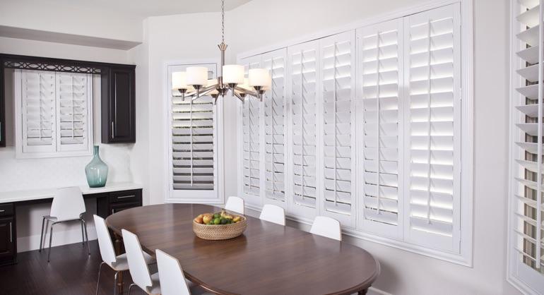 Kitchen Window Treatment Ideas | Sunburst Shutters Southern CA