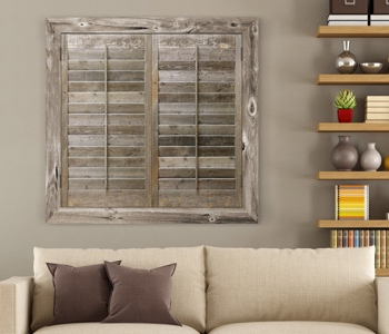 Reclaimed Wood Shutters Product In Southern California