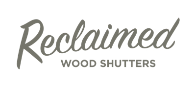 Southern California reclaimed wood shutters