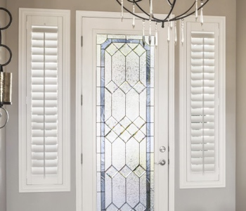 Southern California sidelight shutters