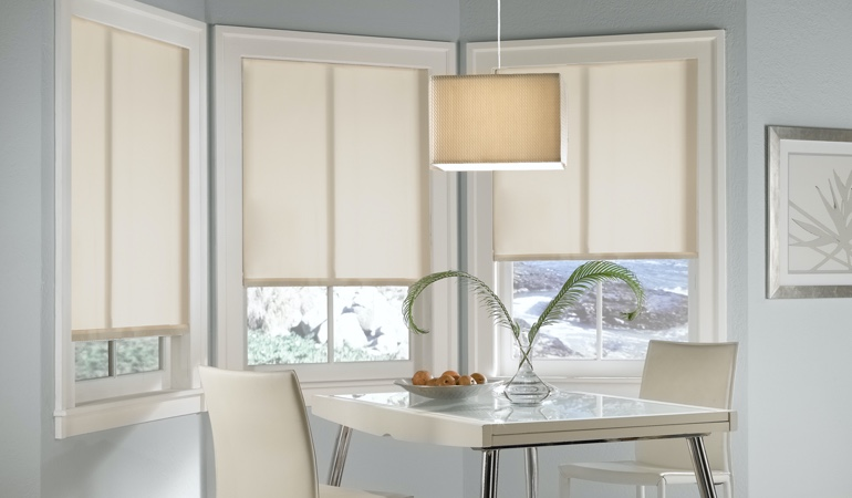 Southern California solar roller shades