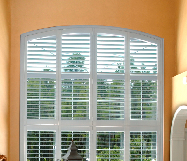 Arched Window Shutters In Southern California