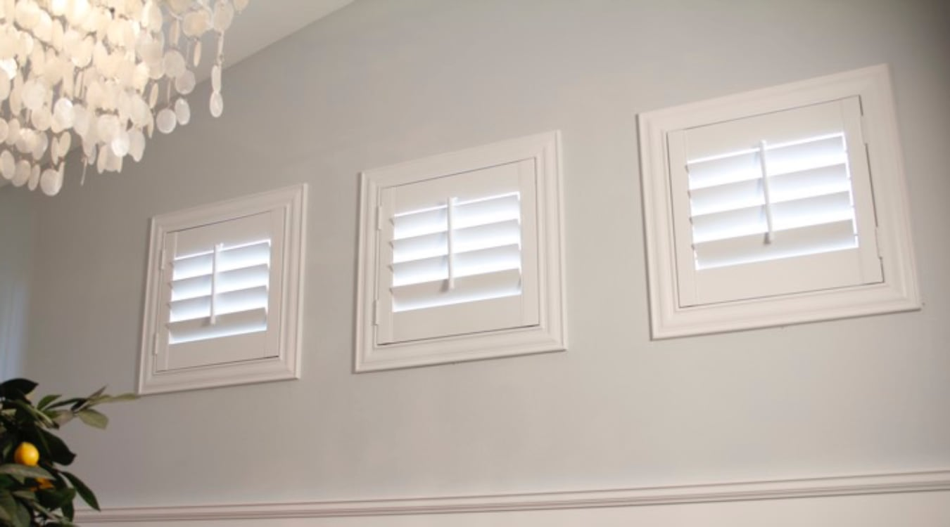 Southern California casement window shutters