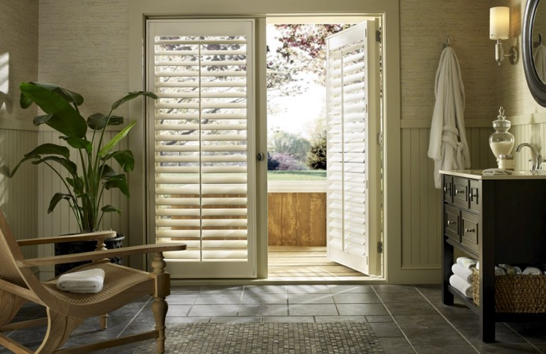 Interior Shutters On The Other Hand Are Perfect For French Doors And Patio  Doors. Rather Than Cluttering Up Your French Door, Theyu0027re More Like Part  Of The ...