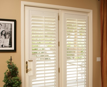 Southern California french door shutters