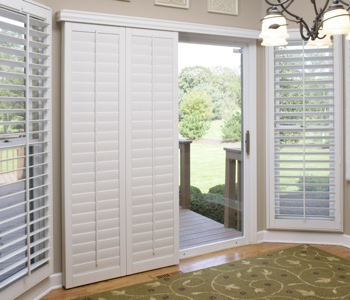 Southern California Sliding Door Shutters