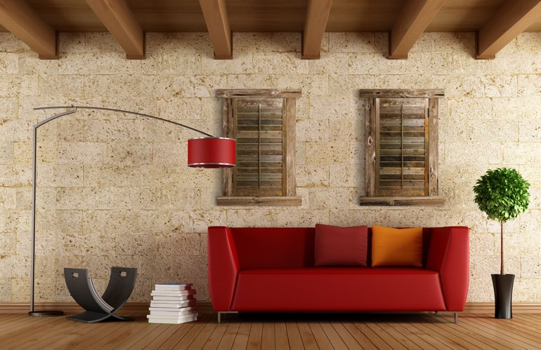 Newest Window Treatment Trends In Southern California: Reclaimed Wood Shutters